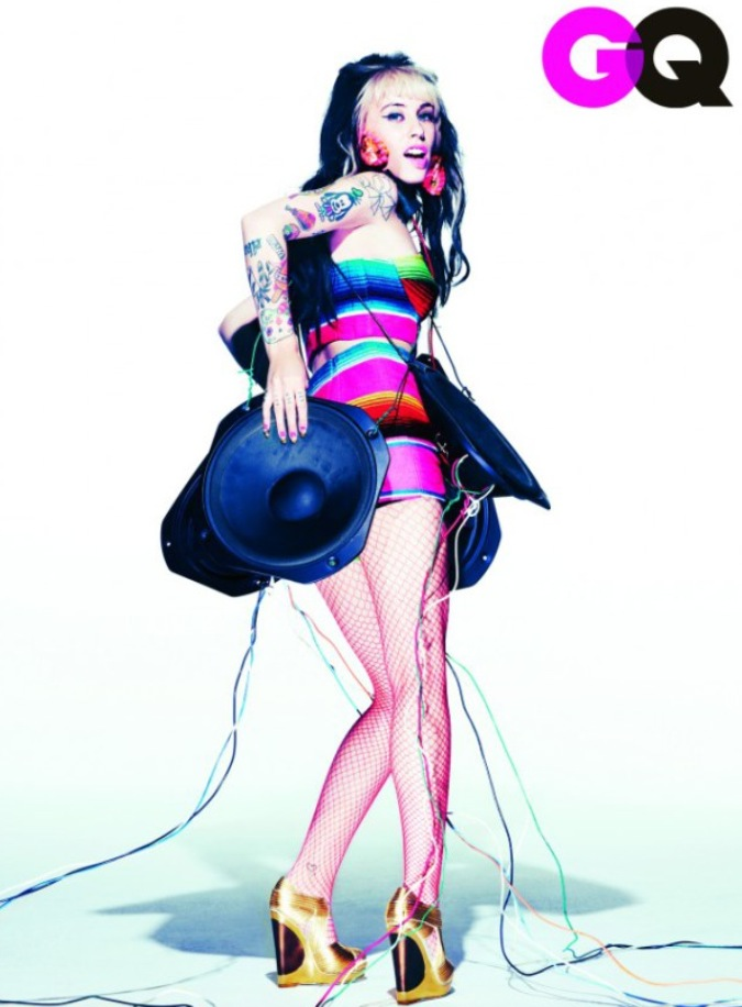 GQ Magazine - Kreayshawn