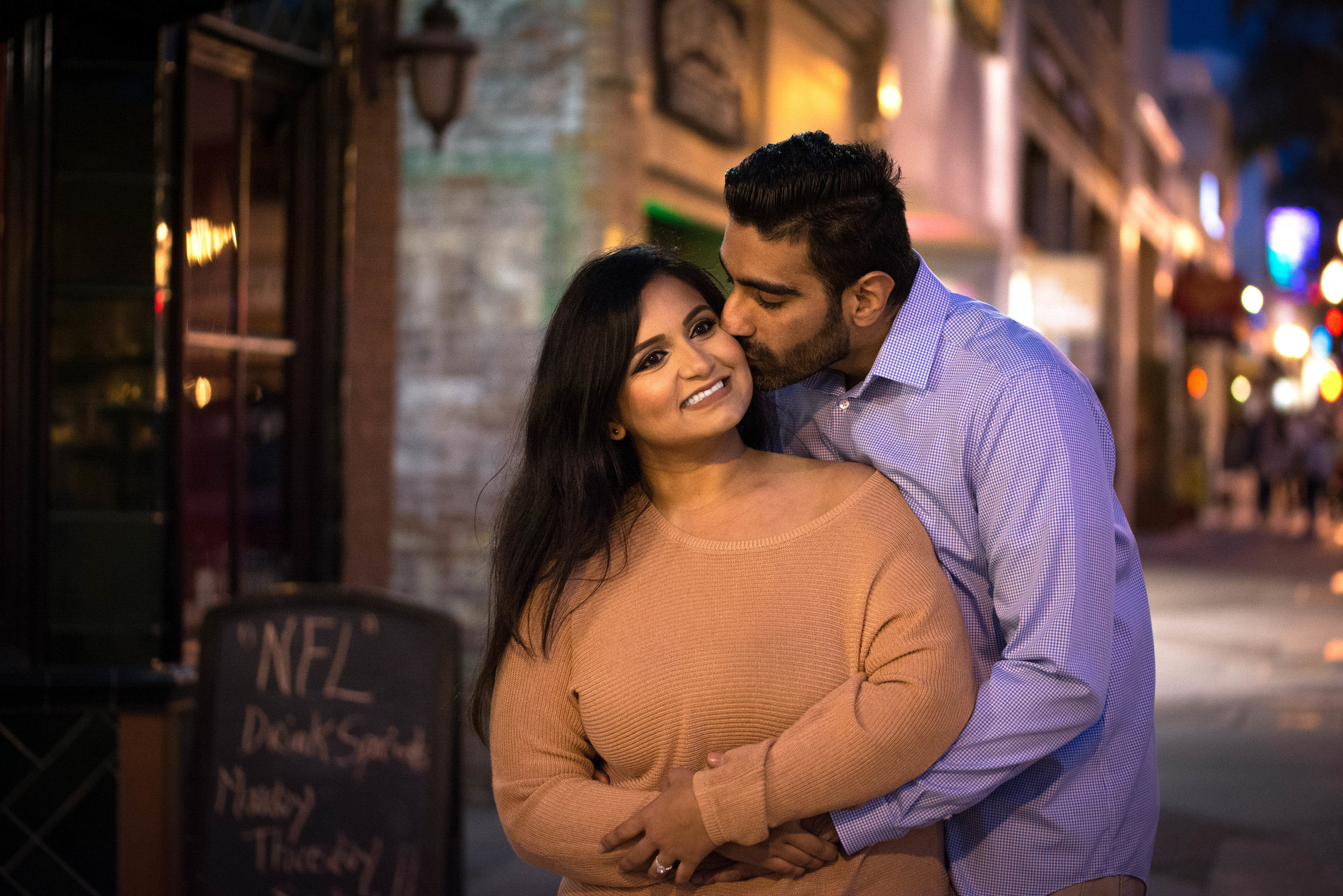 Nayneet & Gagan's Engagement- Downtown Ventura
