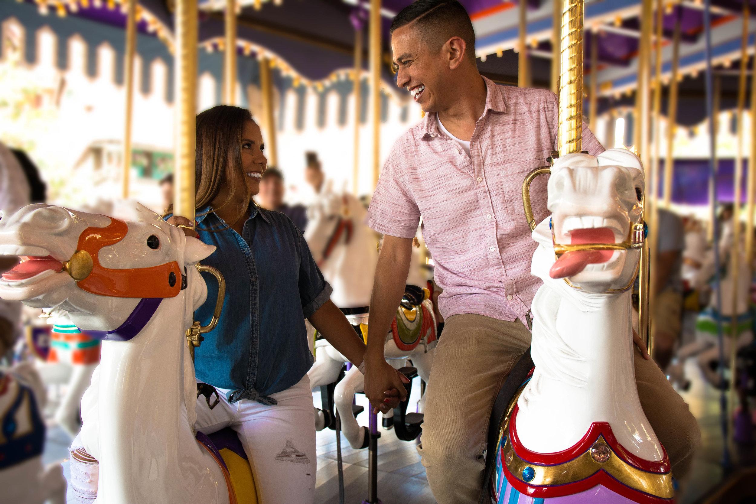 Maria & Sal's 5 Year Anniversary - Disneyland, California