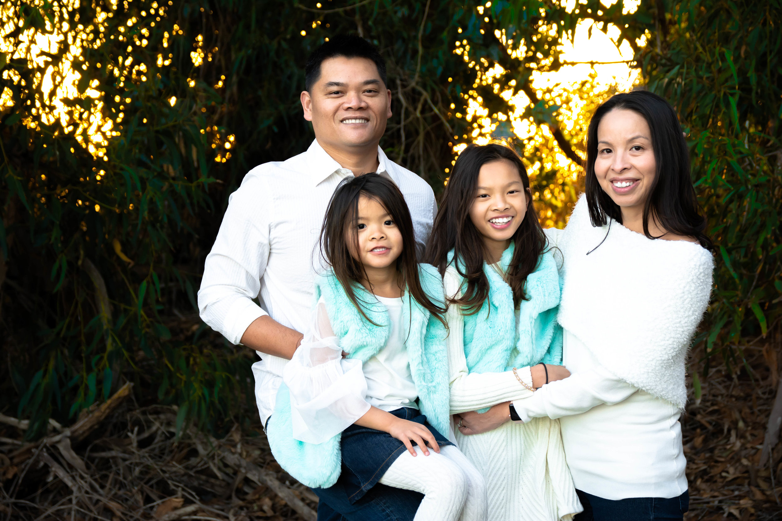Nguyen Family - Carpinteria Bluffs, California