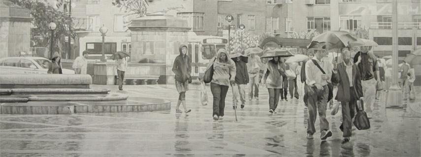 Dusk Rain Mechanics Gate Drawing 1