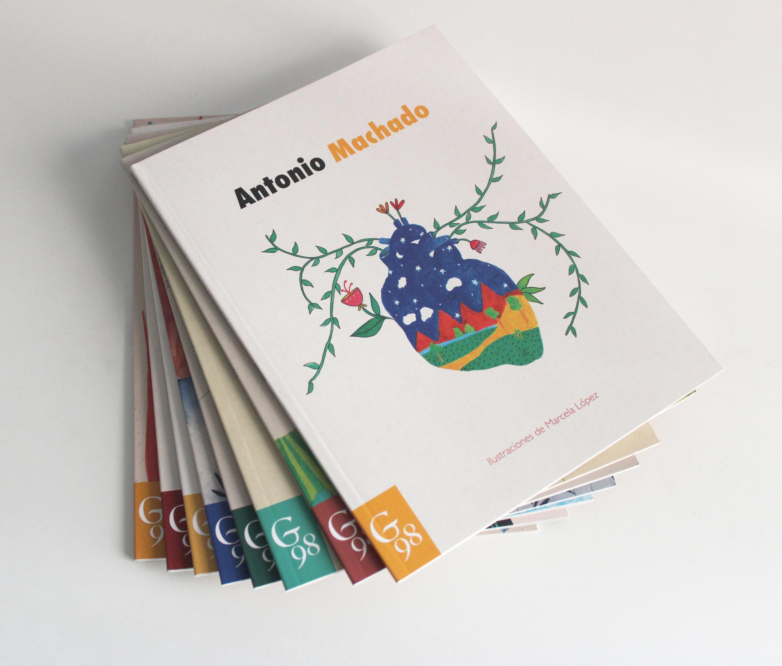 Libros ilustrados generacion del 98