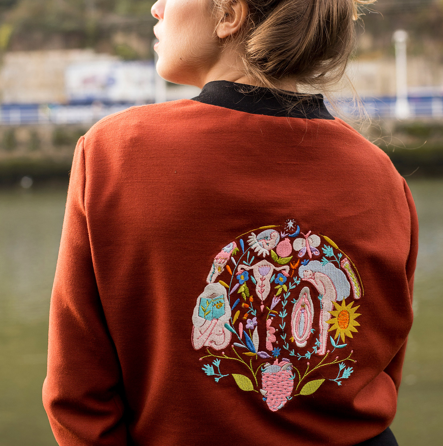 backcouture bomber