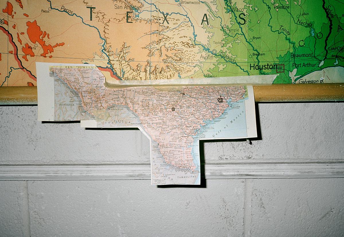 Texas Map, 2008