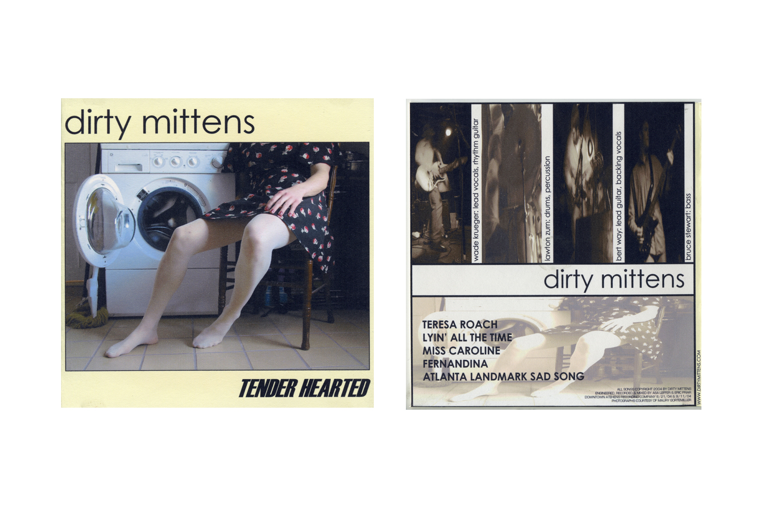 """Tender Hearted"" by Dirty Mittens, 2005"