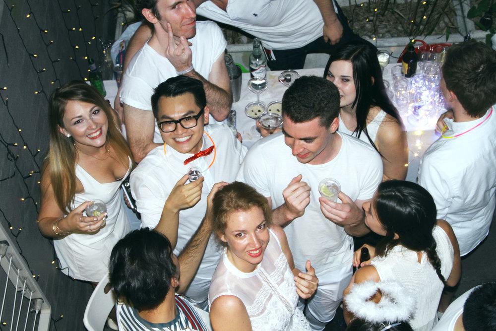 White Sydney Birthday