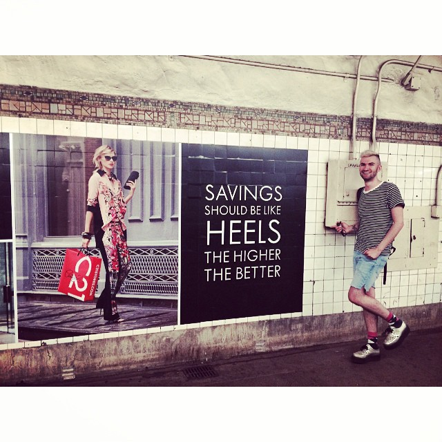 #OOH REALNESS, Bedford Ave. Subway Station, Summer '14