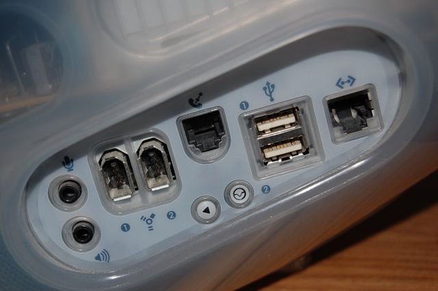 iMac ports - image attribution:  Fletcher at English Wikipedia