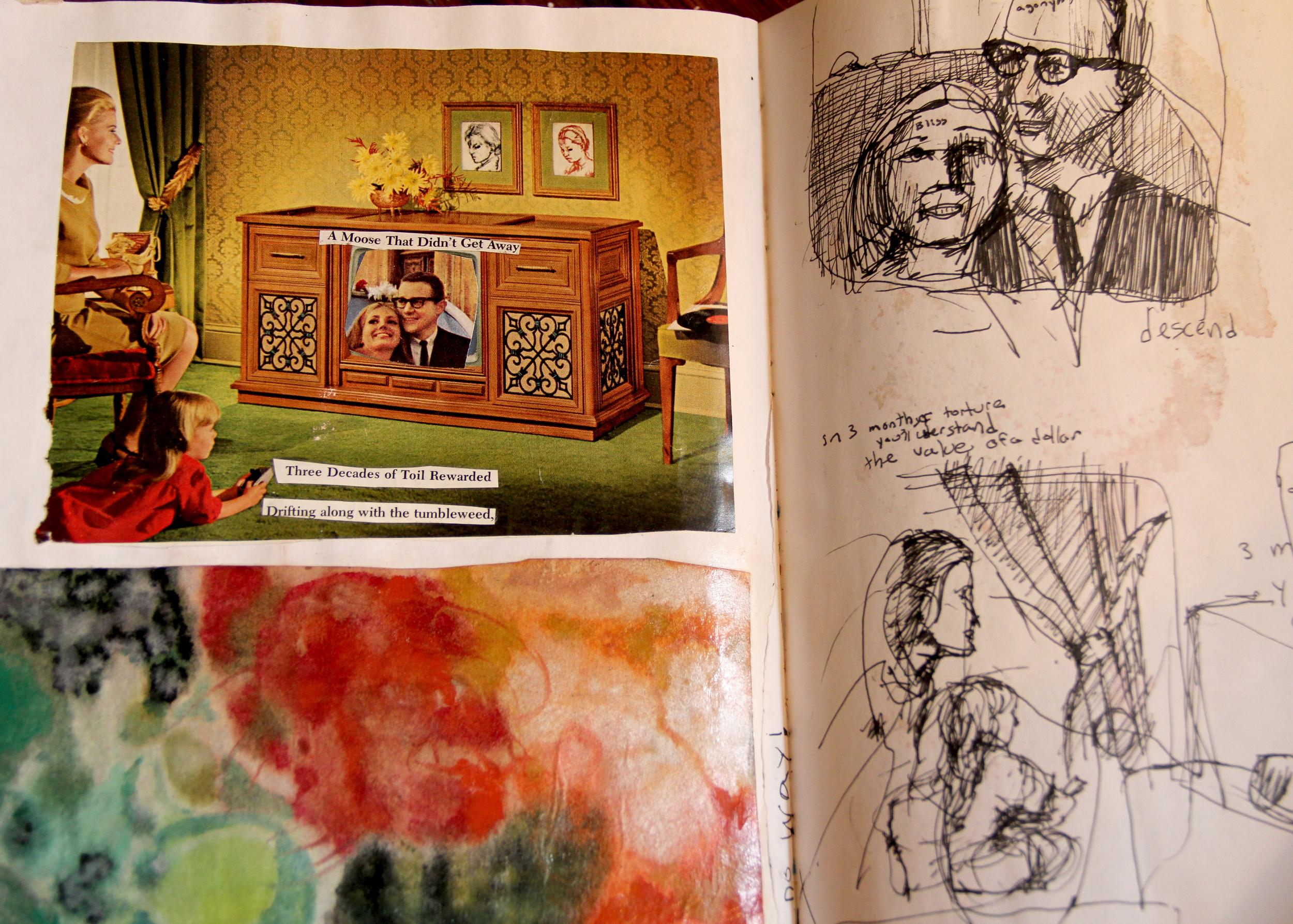 Savannah Sketchbook, 2000