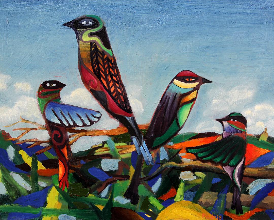 Four Stylized Birds-web.jpg