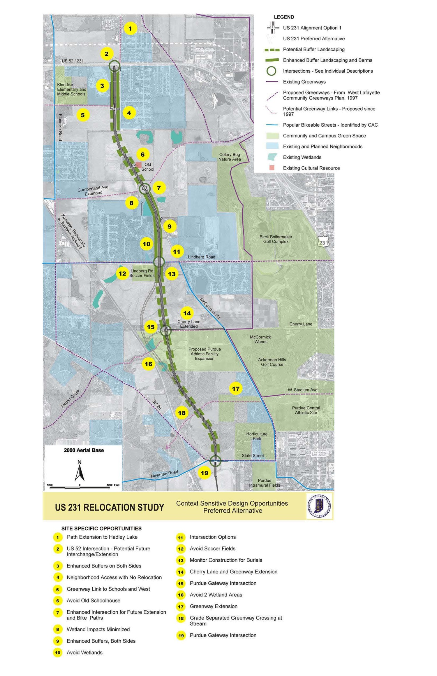 US 231 Relocation Study