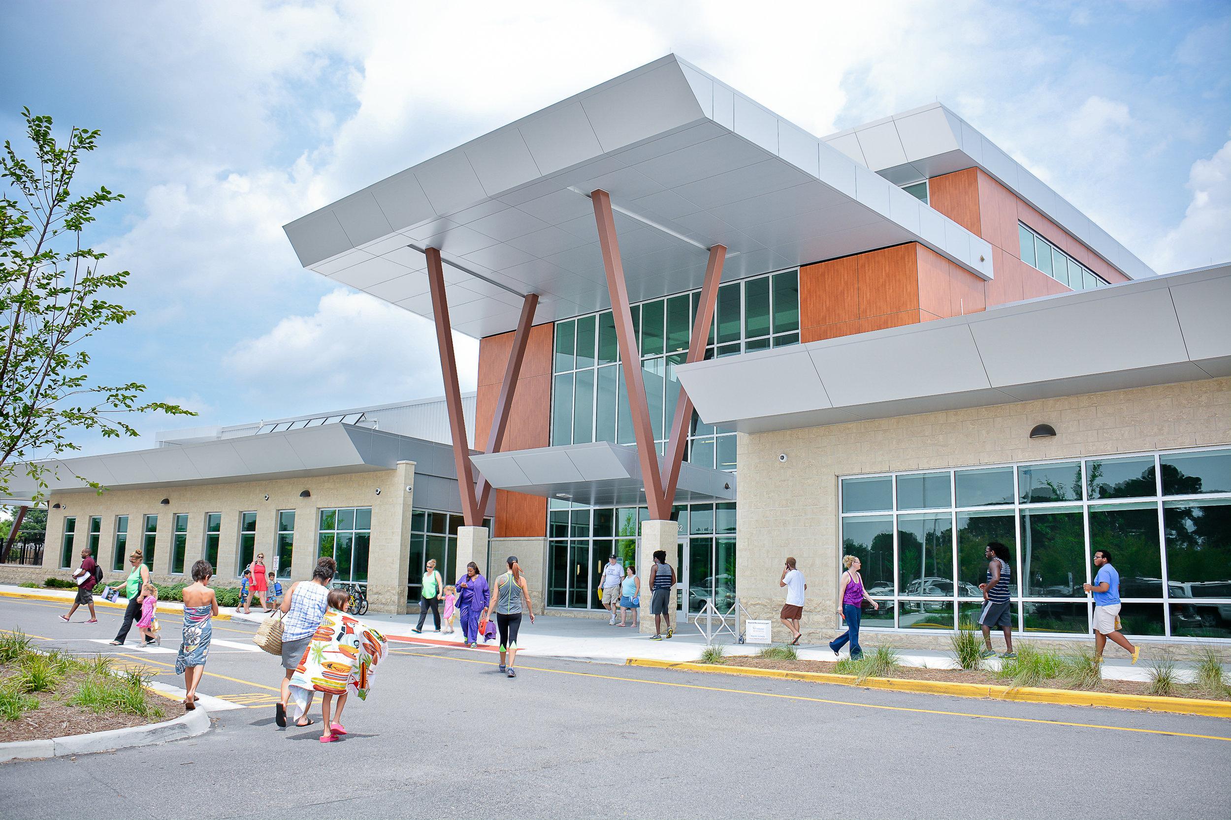 Williams Farm Community Recreation Center Virginia Beach, VA Completed 2012