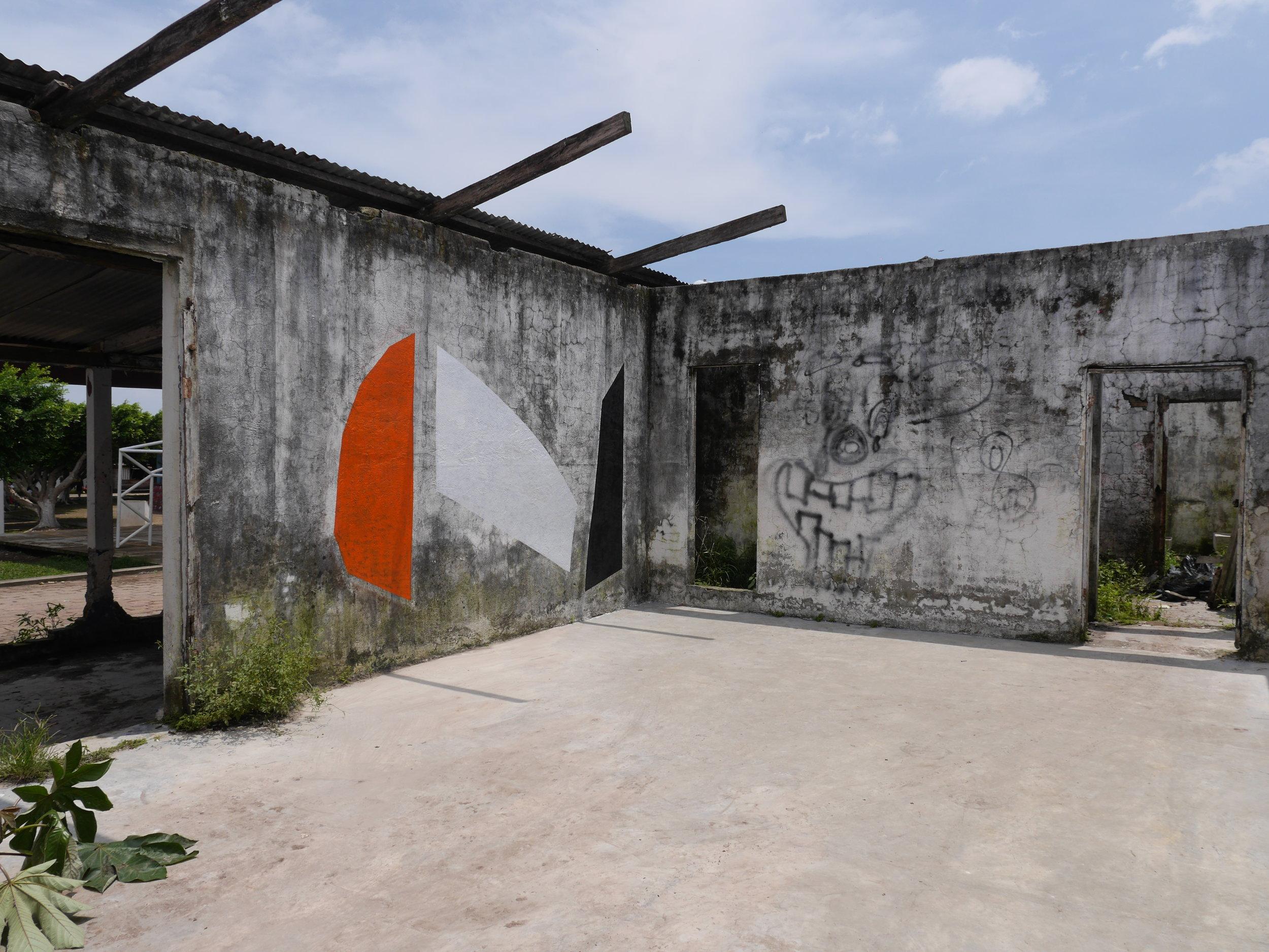 Painting in Chiapas