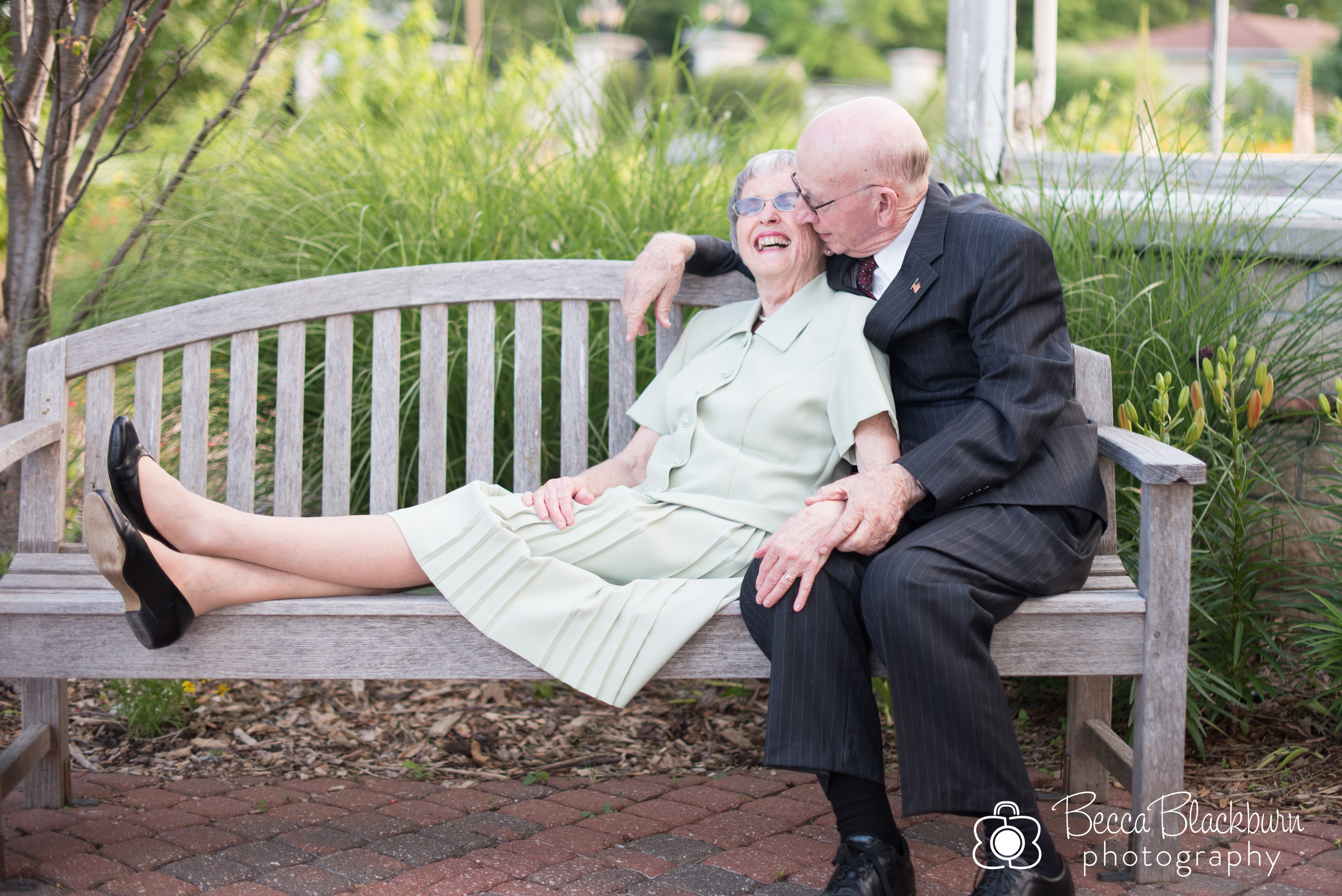 """I love the way Grandfather and Grandmother have fun together, even after 60 years of marriage. The way they laugh together and walk through life as one is inspiring as my husband and I think about what our marriage may look like years from now."" -Becca"