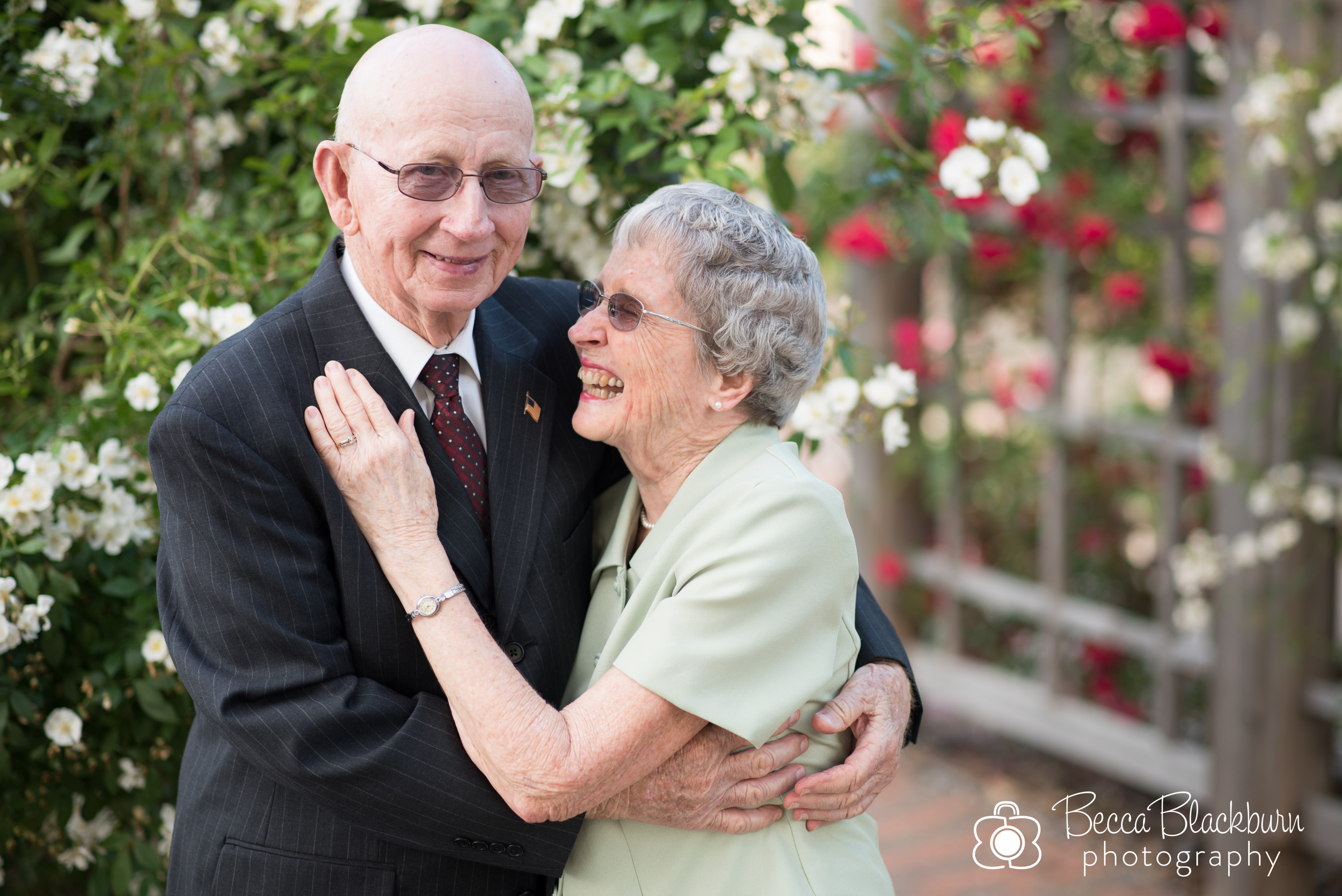 """I have always loved how Grandfather makes Grandmother giggle! Their love for each other is evident all the time! They have always encouraged me and prayed for me in various situations of life! They're a great example of the kind of marriage that I want to have with my husband for years and years!"" -Ashley"