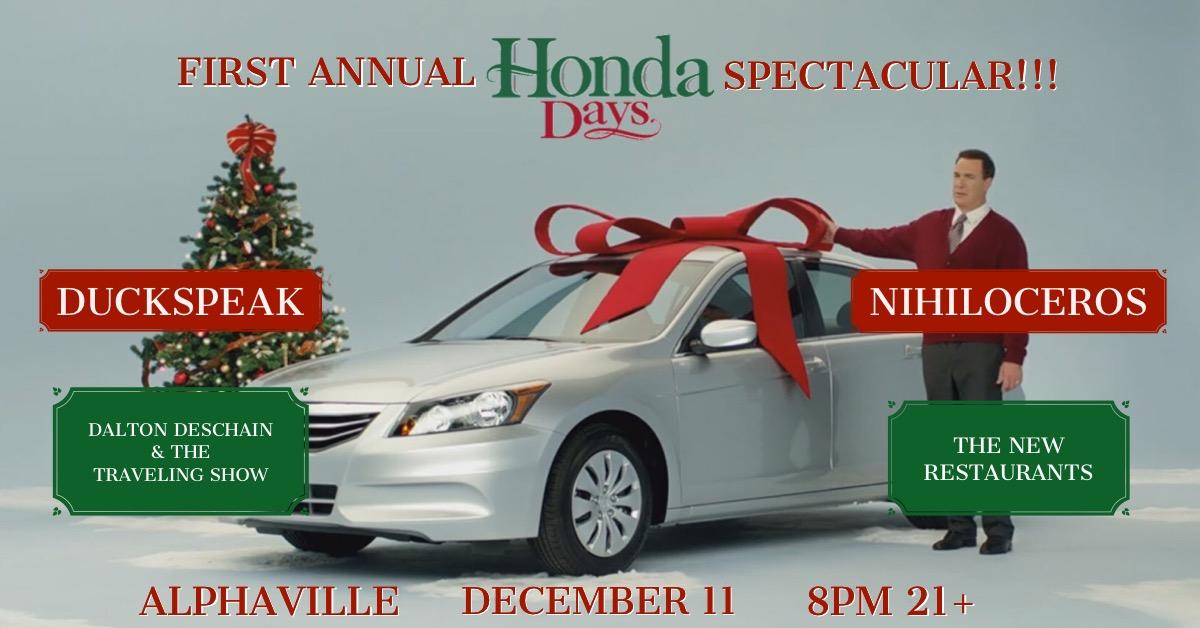 Honda Days Header