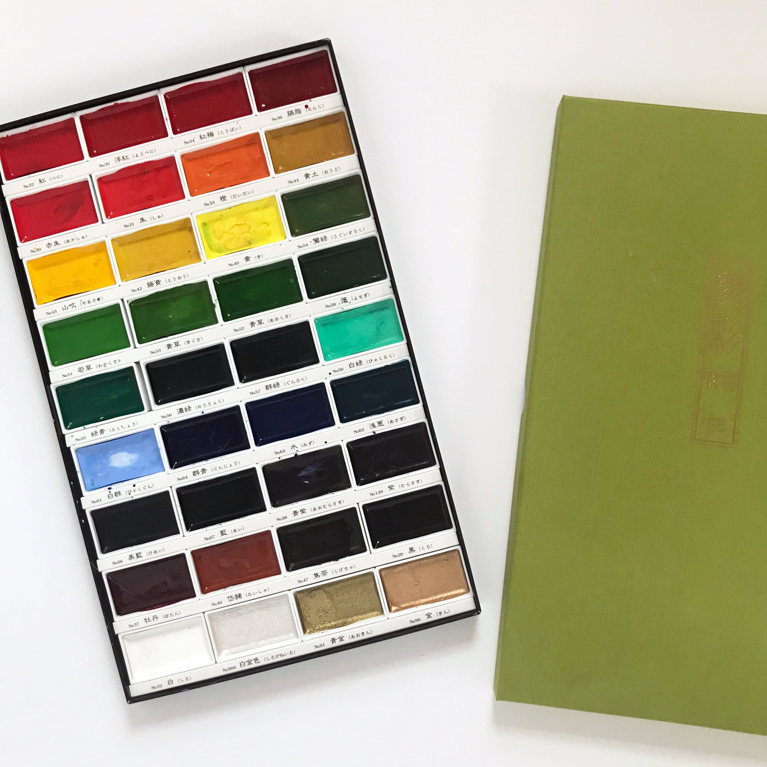 Kuretake Watercolors Are Inexpensive and Come in Sets with Many Beautiful Colors
