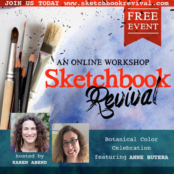 Anne Butera in Sketchbook Revival With Karen Abend
