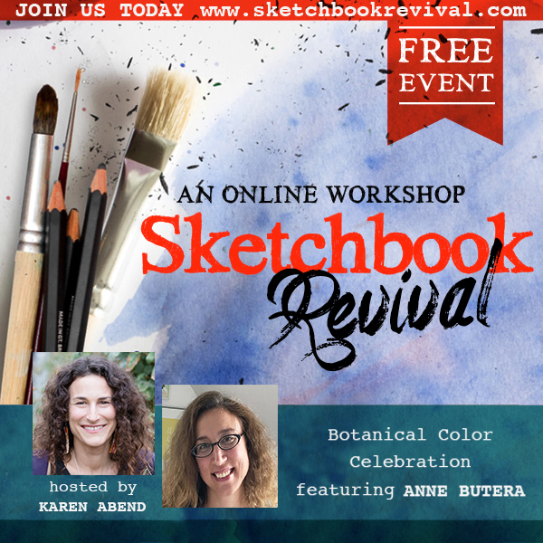 Anne Butera was a Guest Instructor for the 2019 Sketchbook Revival Online Workshop