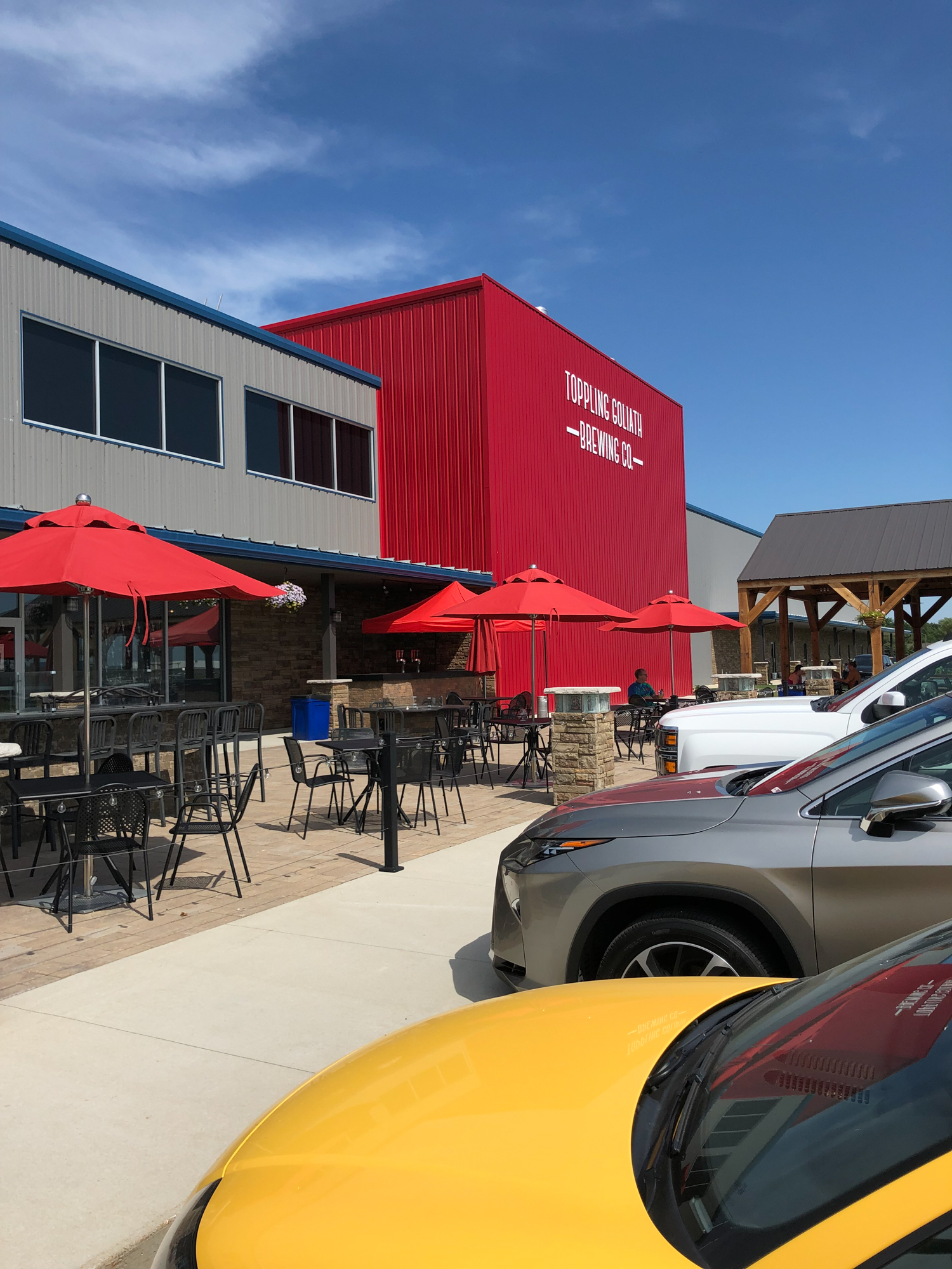 Toppling Goliath Brewery in Decorah Iowa Now Has a Beautiful Facility with a Nice, Family Friendly Restaurant