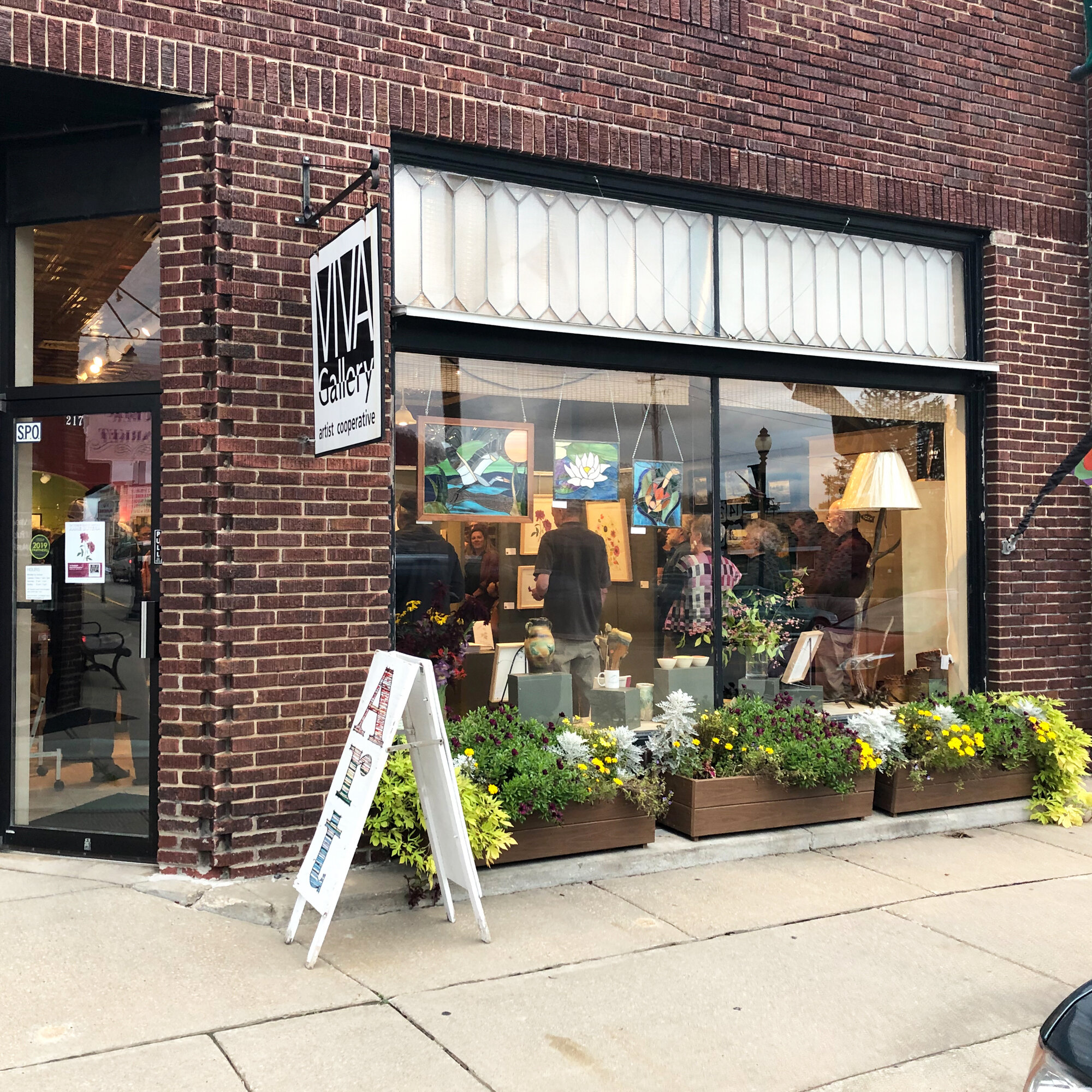 Viva Gallery in Viroqua Wisconsin is an Artist Cooperative that Hosts Monthly Guest Artists