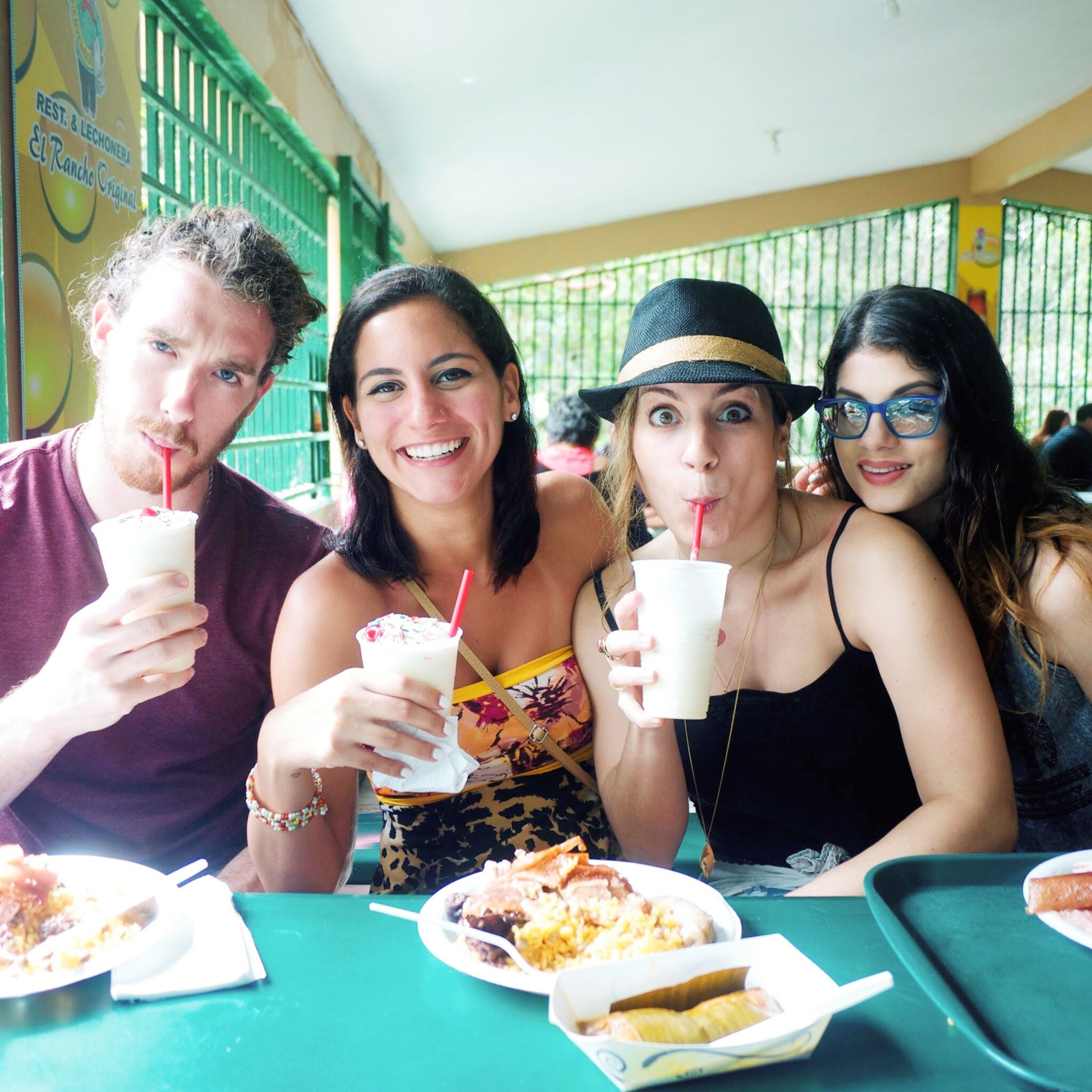 Yes, we like piña coladas and getting caught in the rain.