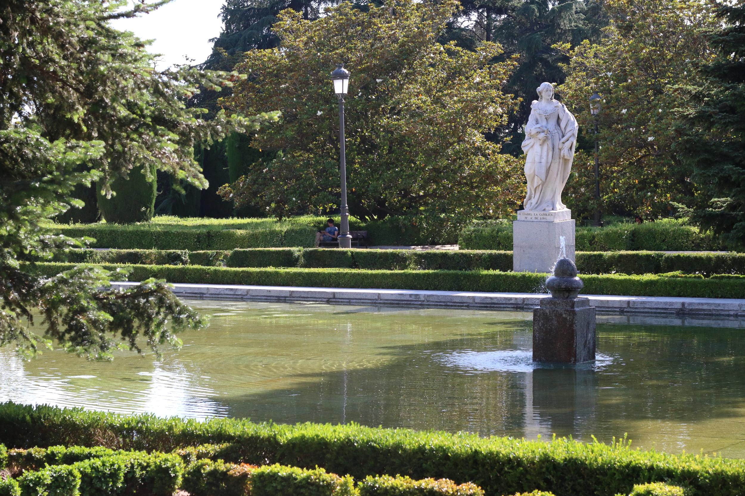 Gardens of el  Palacio Real de Madrid