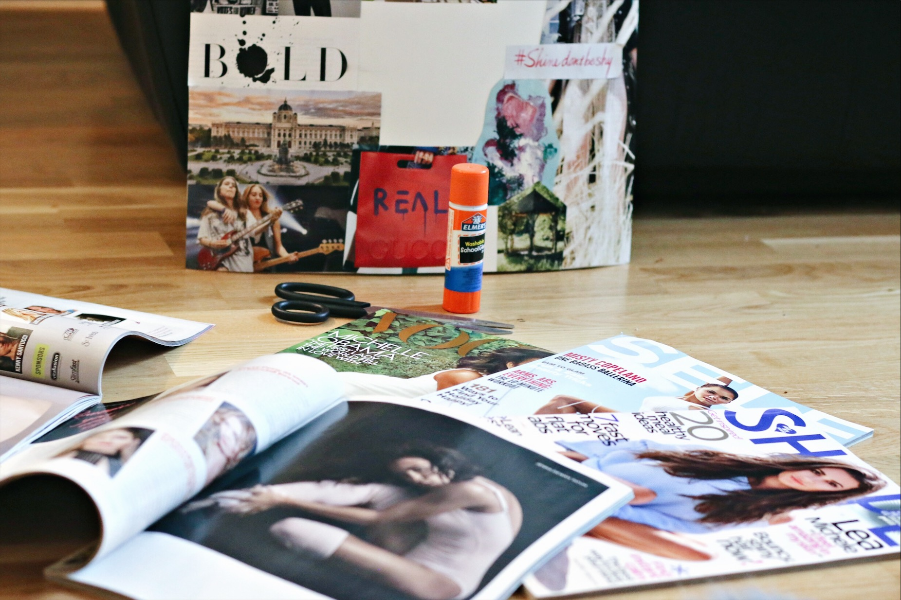 Skip the Resolutions: Making a DIY Vision Board for Success