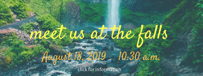 Outdoor worship at Minneahaha Falls on August 18; click for more information