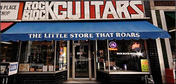 Rock Block Guitars - Address:  2113 Elliston Pl, Nashville, TN 37203  - Phone: (615) 321-0317