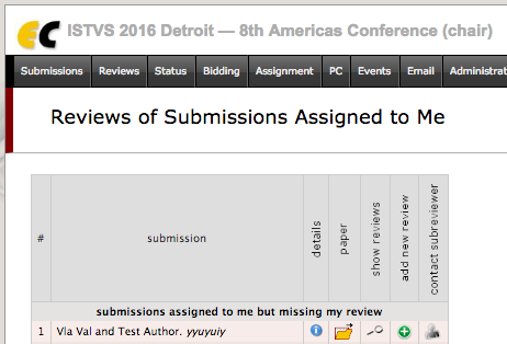 4.2 Submissions Assigned to Me view