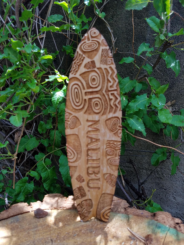 Malibu Tiki Surfboard