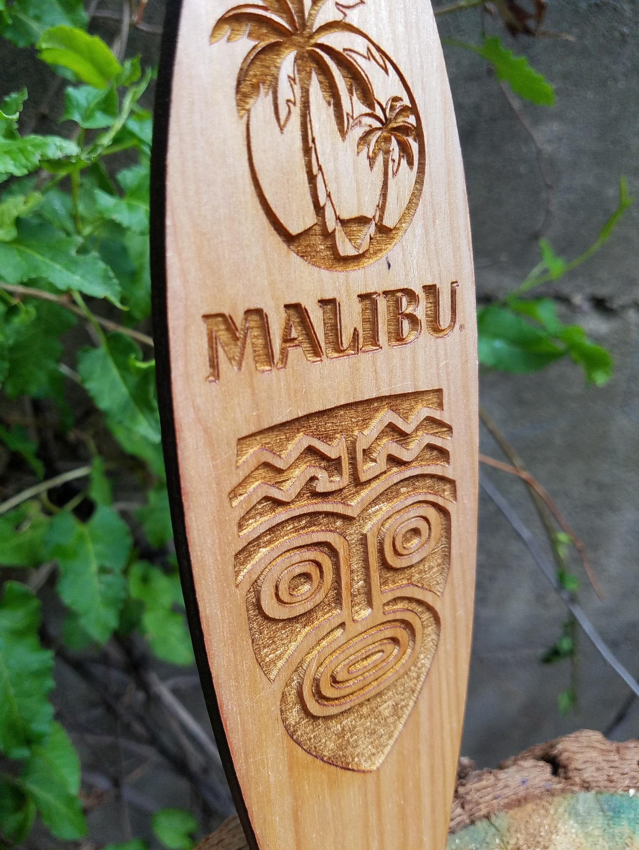 Closeup of Malibu Surfboard
