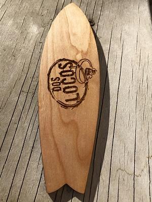Dos Locos Mini Surfboard
