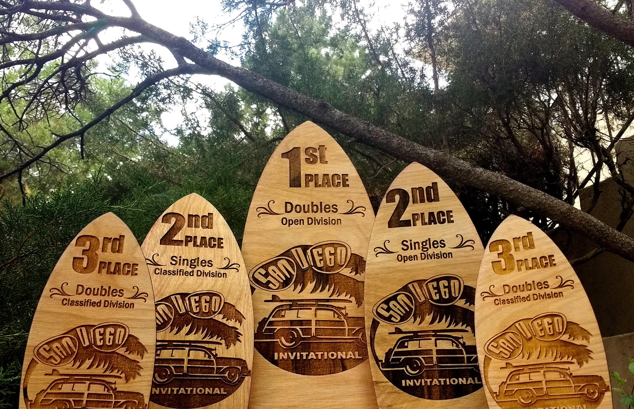 San Diego Bowling Trophies