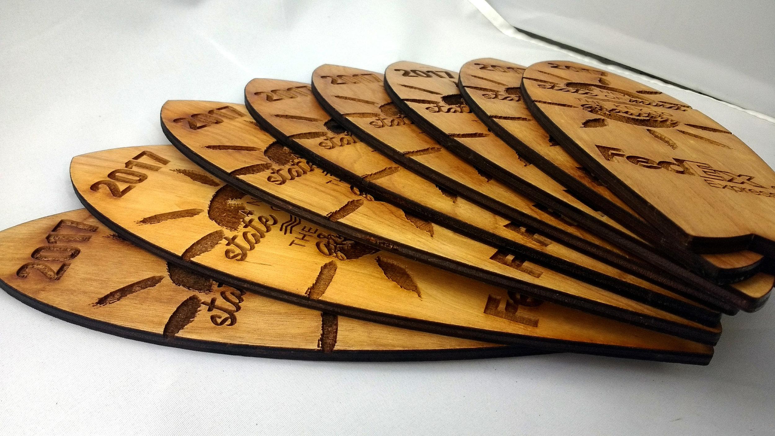 FedEx Surfboard Trophies