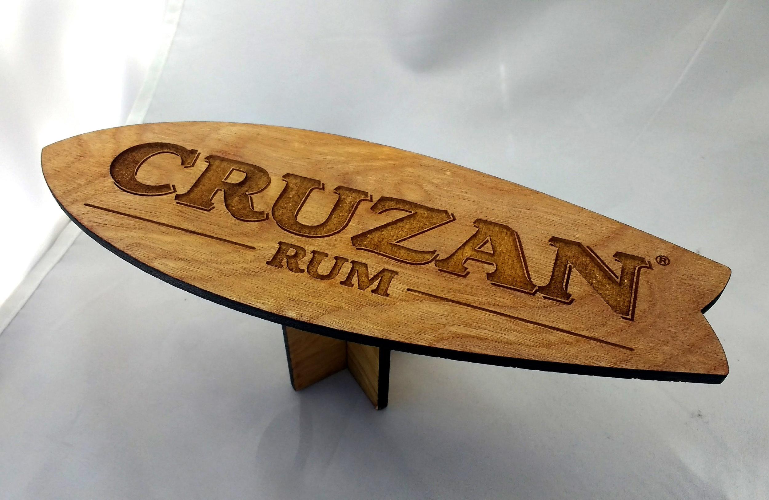 Mini Surfboard Table