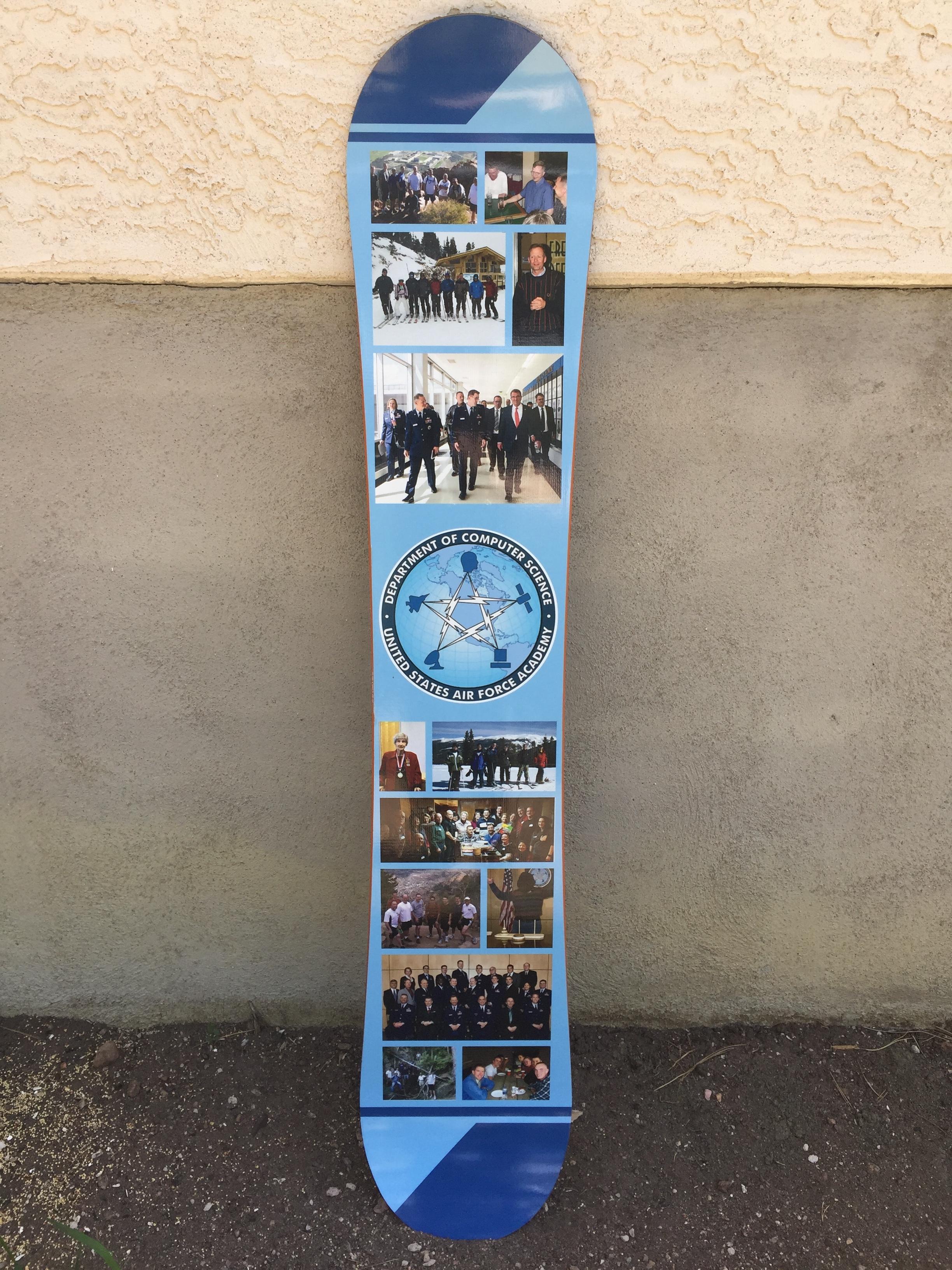 Air Force Adademy Snowboard