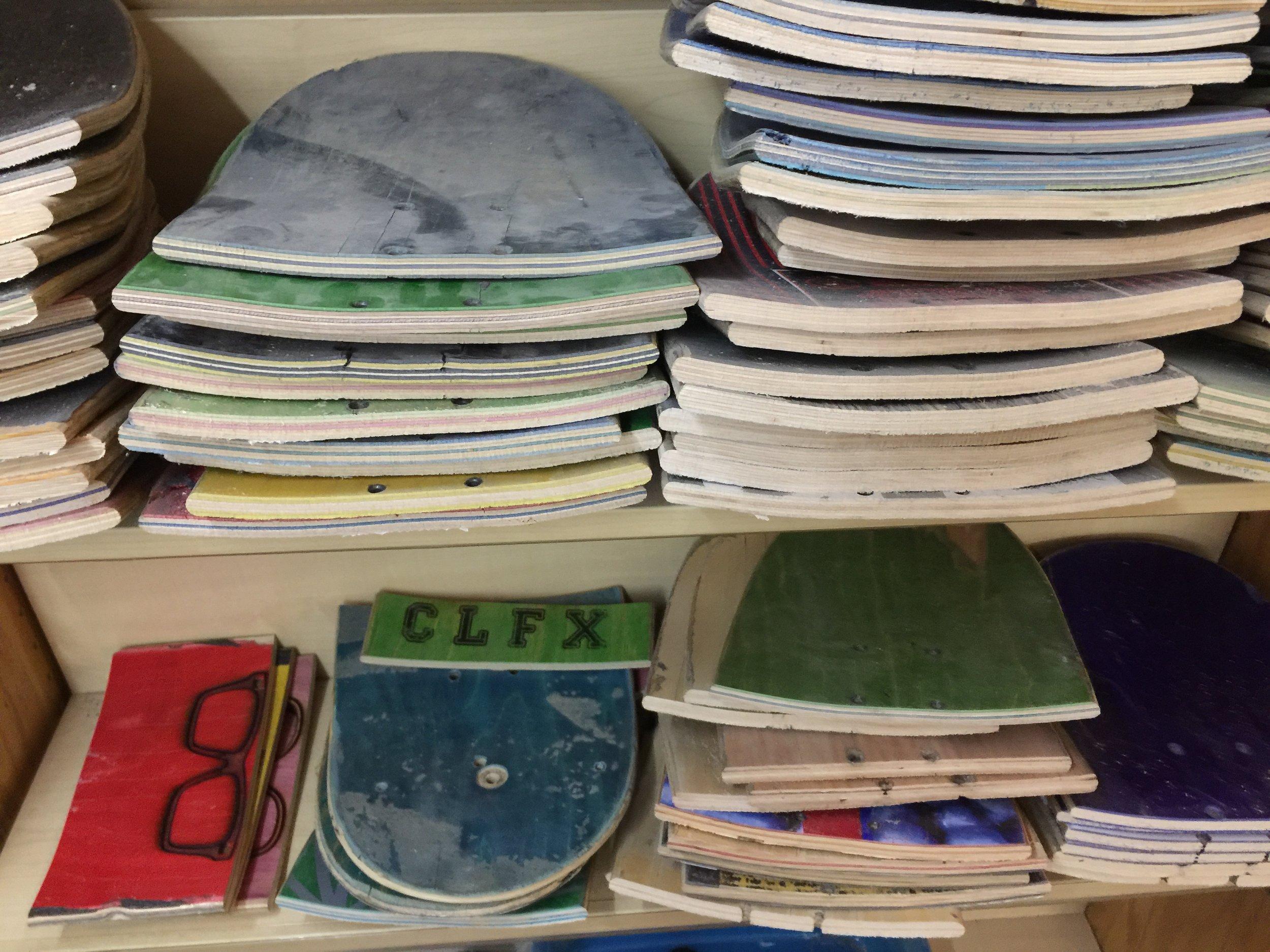 Skate Deck Prep