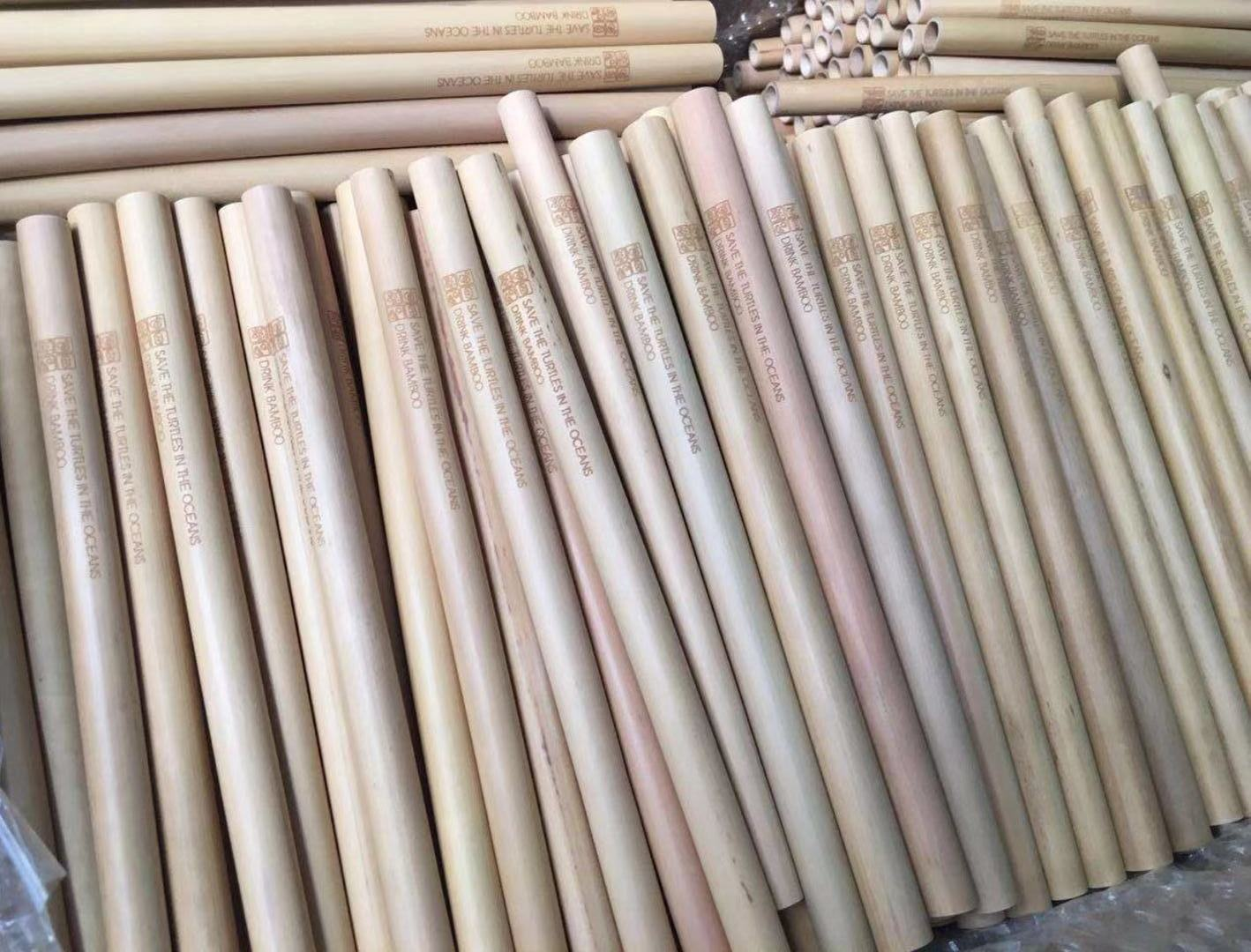 Wholesale & OEM Bamboo Drinking Straws
