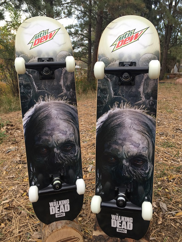 Promo Walking Dead Skateboards
