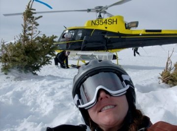 I still love to hit the slopes, but there was a time in my life I thought if I was not skiing a run from a helicopter, it wasn't good enough.