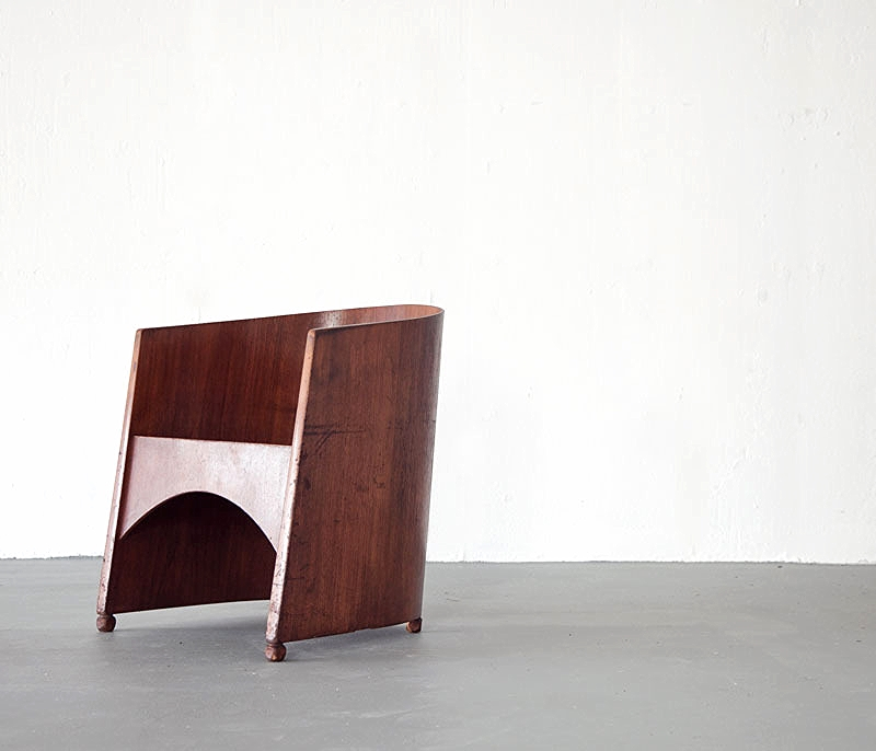 "The ""One Of A Kind Plywood Chair"" by Brooklyn based Sit and Read : Get it  Here"