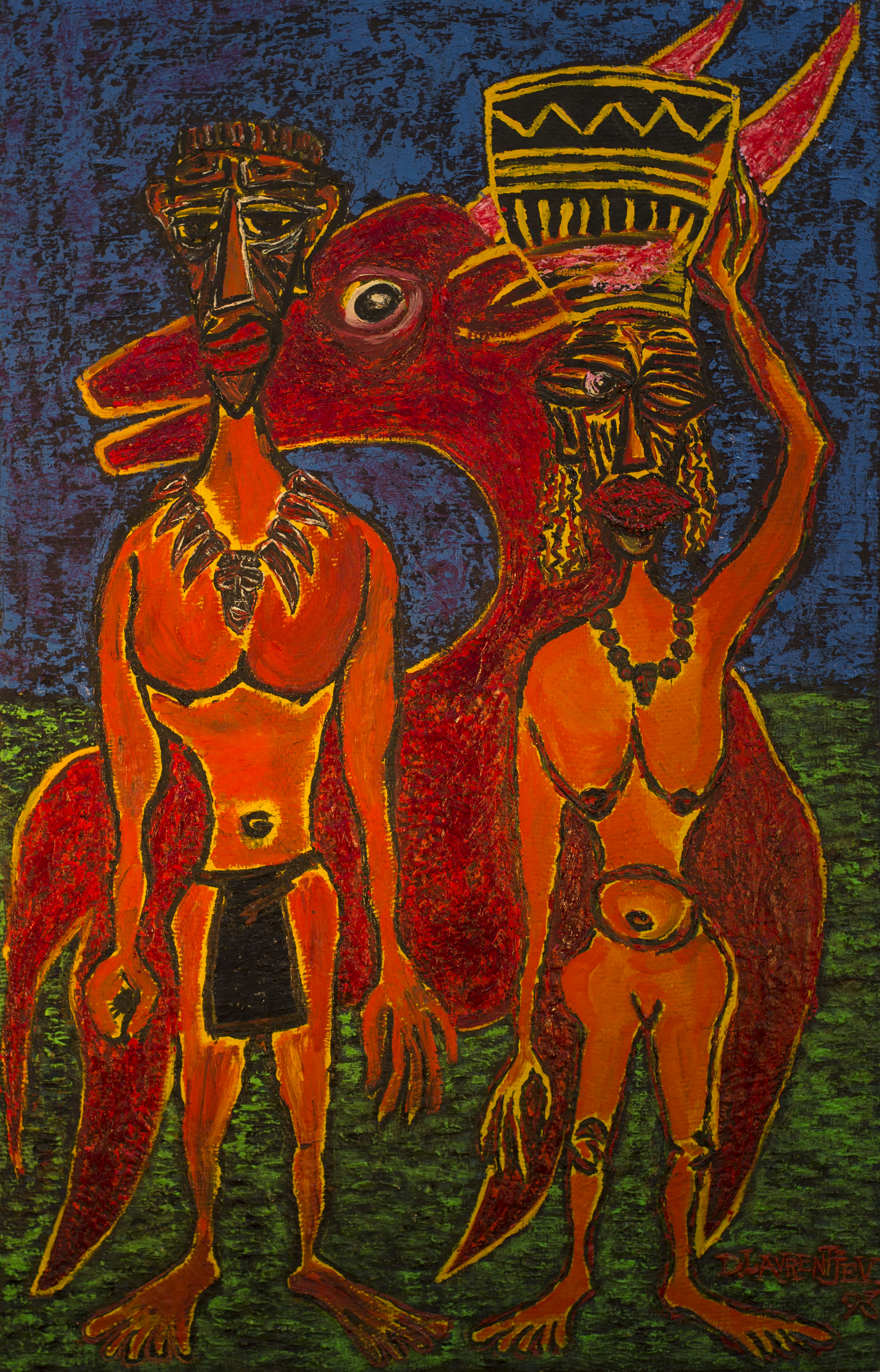 """Farmers And Antelope"""