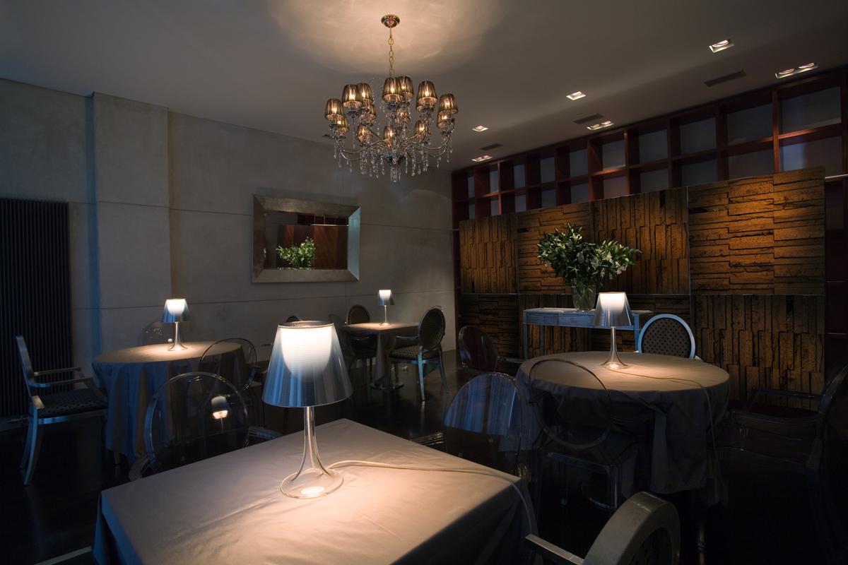 Peat Brick Wall - Restaurant Interior