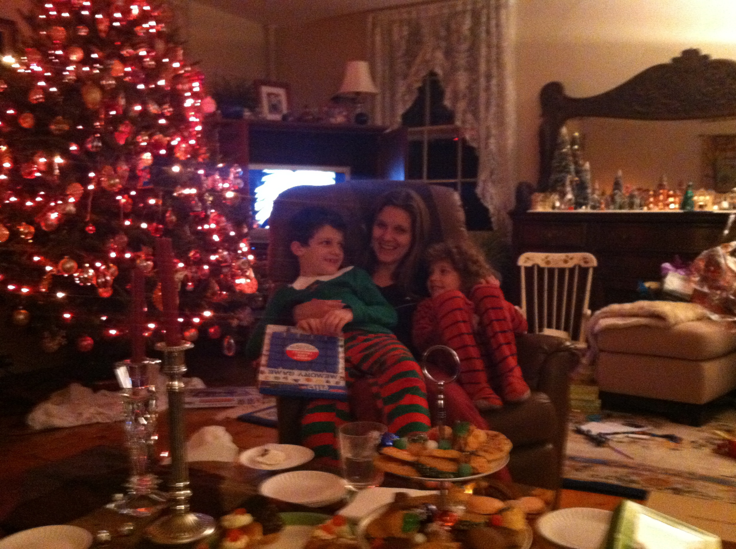 Christmas with our little elves