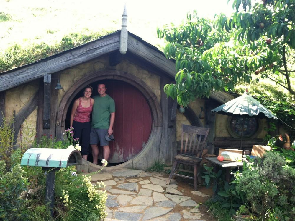 Hobbit hole!