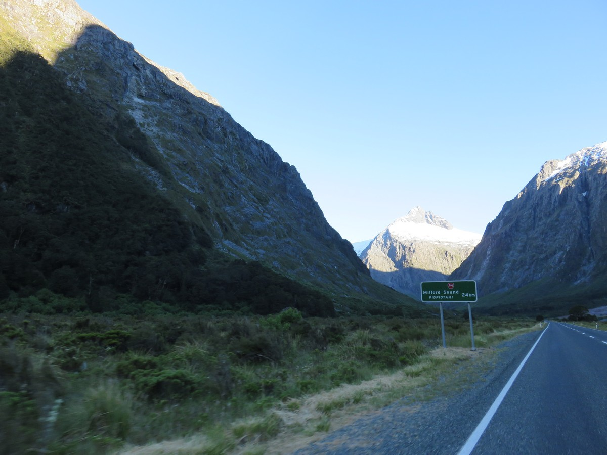 Drive to Milford Sound, gorgeous