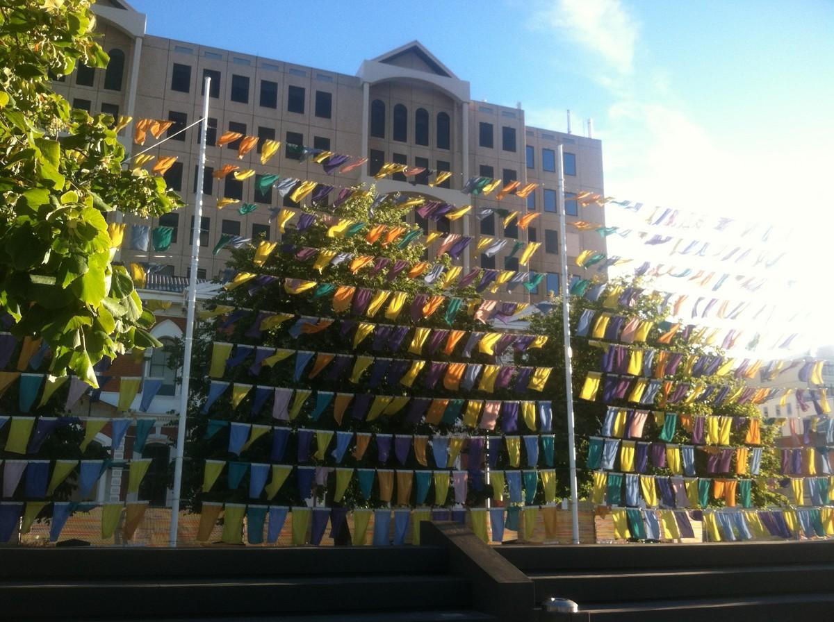 Outdoor art installation