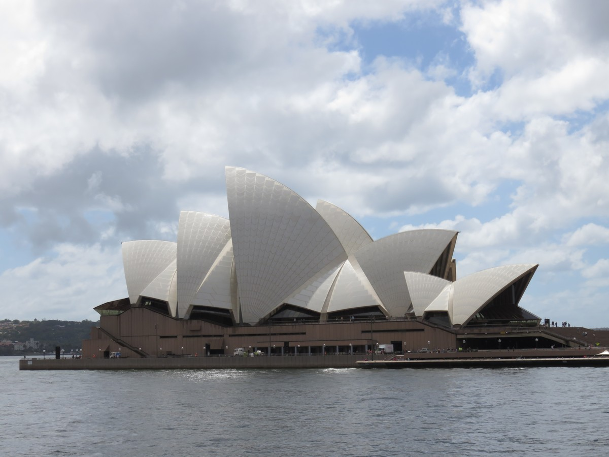 Opera house angles